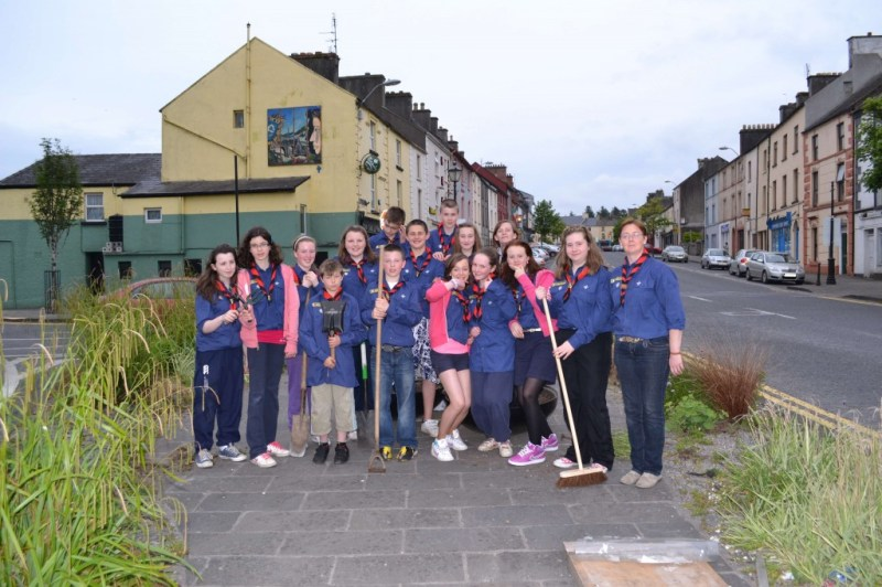 24th Mayo Swinford scouts project