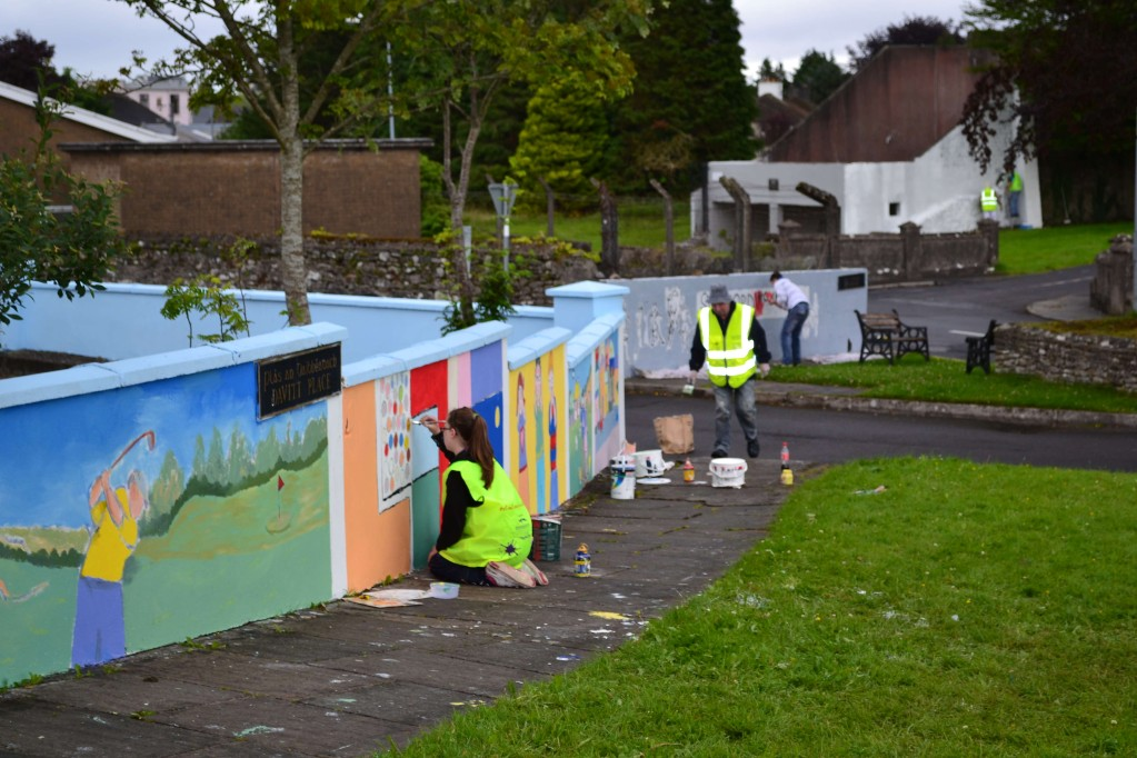 Swinford Dulux lets colour project