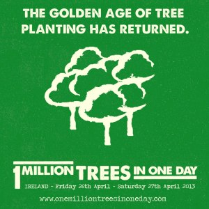 1 million trees in 1 day poster