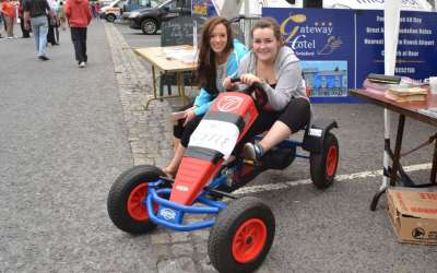 Berg Go-Cart For Raffle at Siamsa Sraide