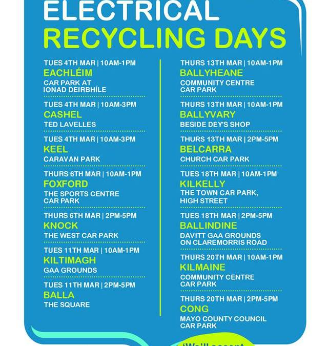 WEEE Recycling In Mayo