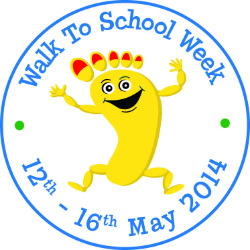 National Walk To School Week 2014