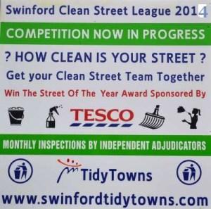 Clean Street League 2014 poster