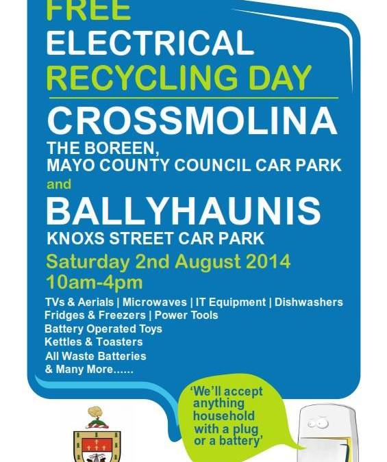 WEEE Recycling In Ballyhaunis