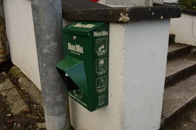 Dispenser at No Name Club Chapel Street Swinford