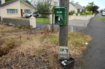 Dispenser at Kilkelly Rd junction