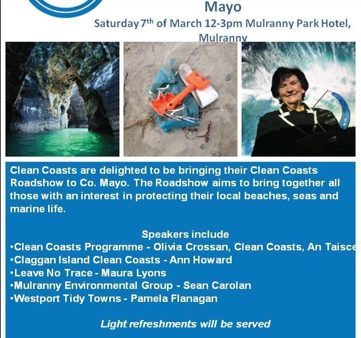 Clean Coasts Roadshow Mayo 2015