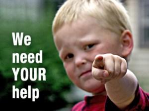 volunteers we need your help