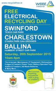 weee recycling swinford-September-2015