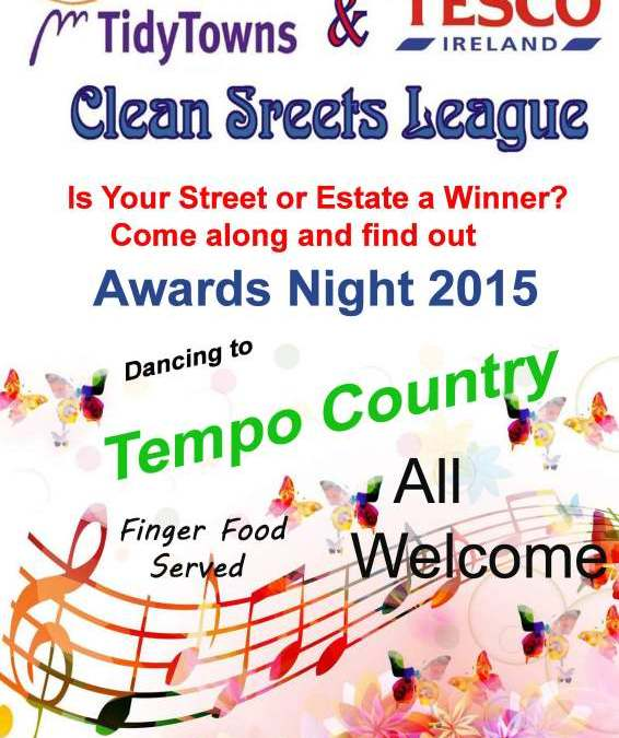 2015 Swinford Clean Street League Awards Night