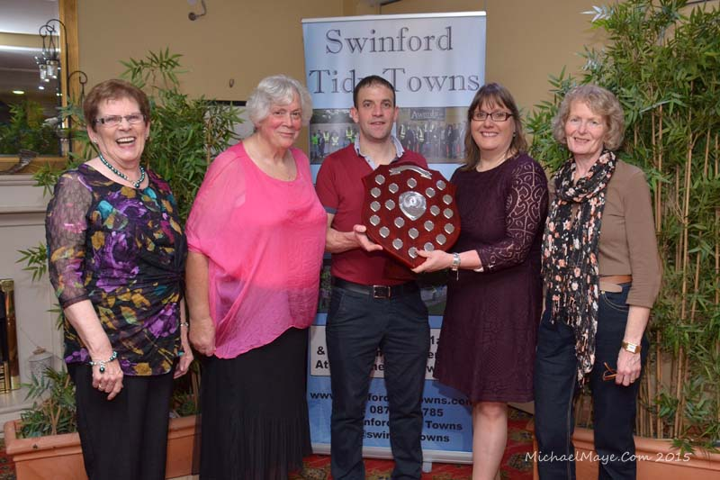 2015 Swinford Clean street League Awards night winners