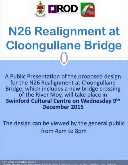 n26 realignment cloongullane bridge