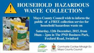 household hazardous waste collection swinford 2015