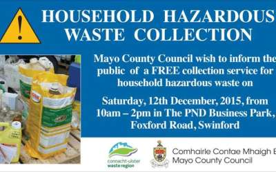 Household Hazardous Waste Collection Swinford 2015