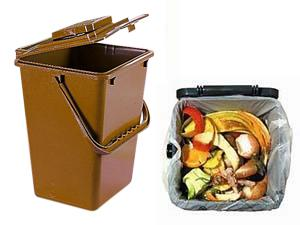 separate food waste for composting