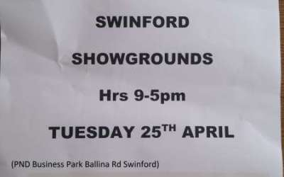 Farm Plastics Collection Swinford 25th April