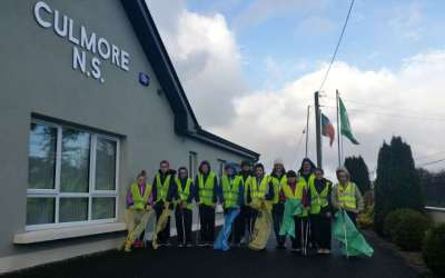 Culmore School Litter Pick