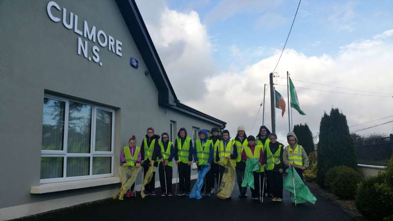 Culmore school litter pick 2017