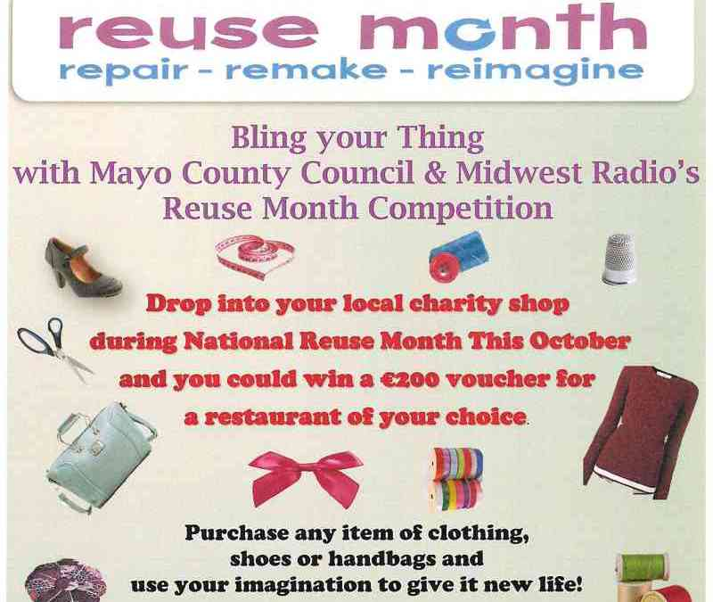 National Reuse Month 2018