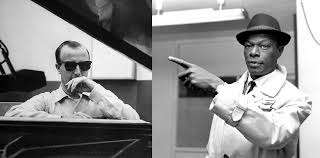 "George Shearing and Nat ""King"" Cole."