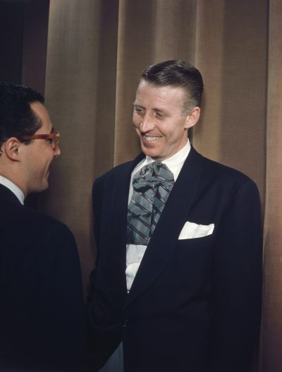 Portrait of Stan Kenton and Pete Rugolo, 1947 or 1948