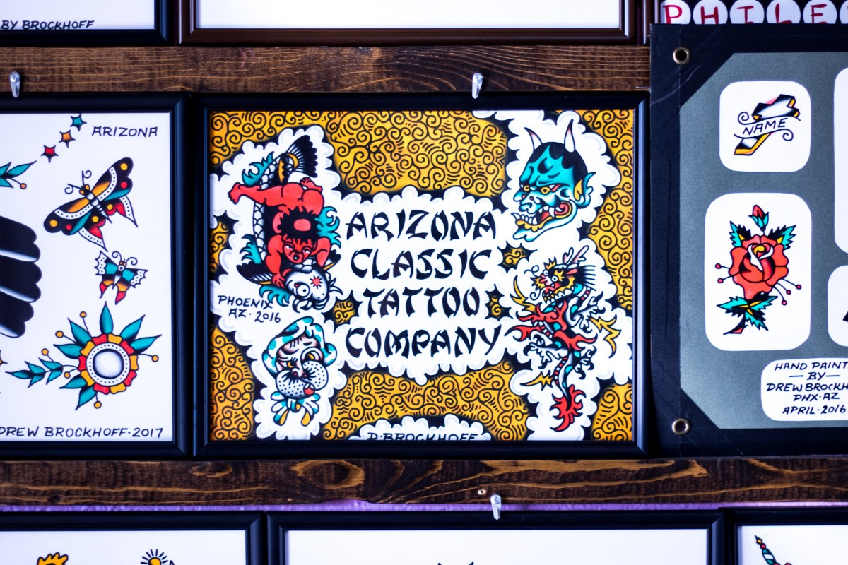 Itchin' for Ink? Swing by Arizona Classic Tattoo Company