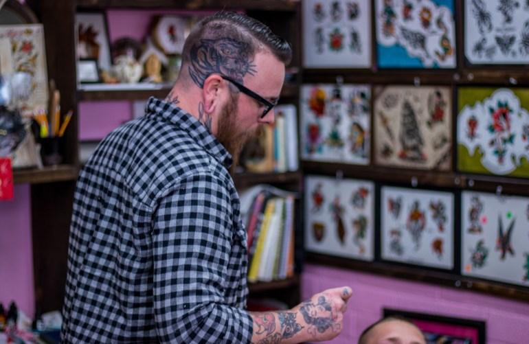 drew brockhofff teaching arizona classic tattoo company