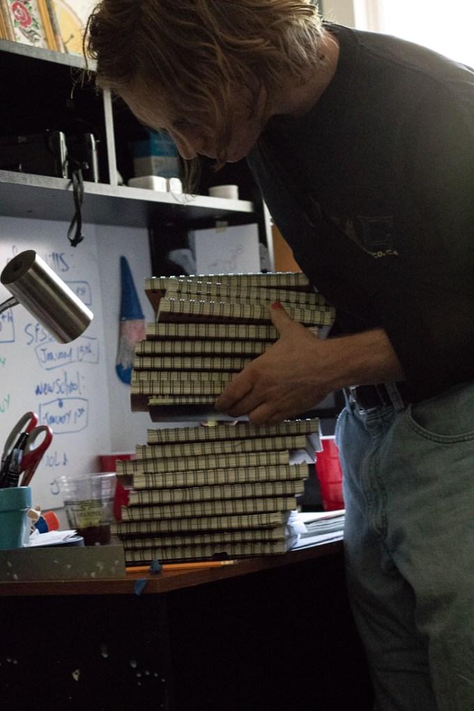 Zanzucchi stacking sketch books