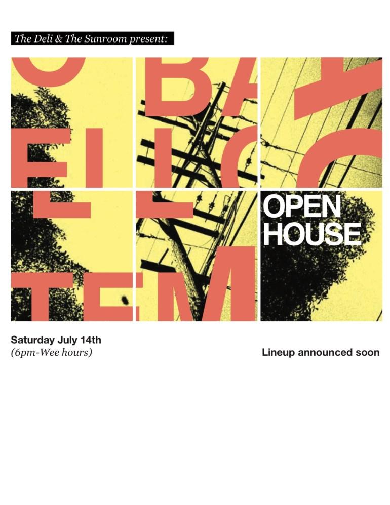 Open House Flyer by Adam Zanzucchi