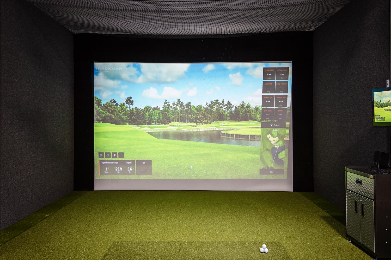 Swing Fit Golf Club TrackMan 4 Simulator WEB