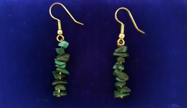 Shop Online for Stacked Jade Earrings