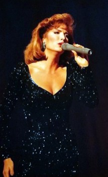 Tami Marler, Miss Oklahoma singing Since I fell for you