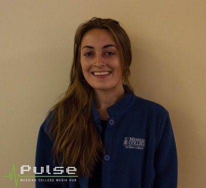 Work Study student Brianna Jewell