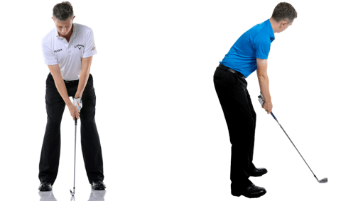 Swing video angles: front and side on