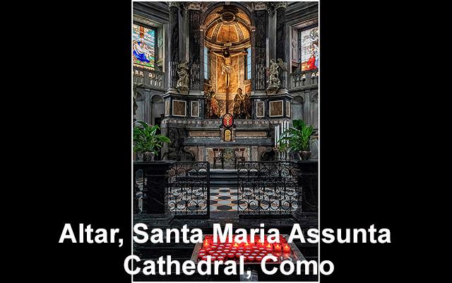 44 Altar, Santa Maria Assunta Cathedral, Como copy