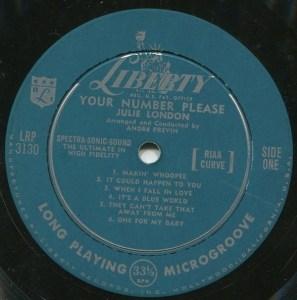JulieLondon_numberplease_blue_label