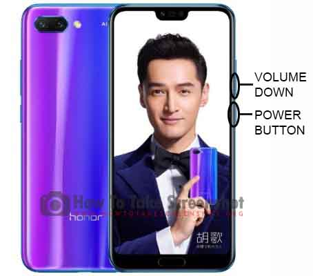 How to Take Screenshot on Huawei Honor 10 GT