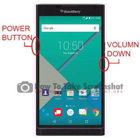 How to take Screenshot on BlackBerry Priv