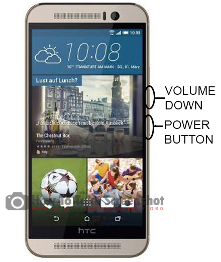 How to Take Screenshot on HTC M9