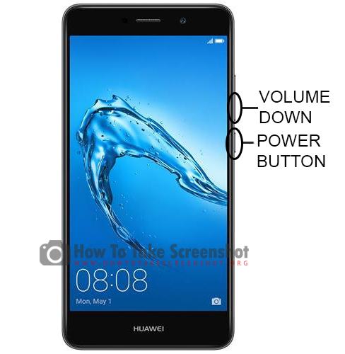 How to Take Screenshot on Huawei Honor Holly X4