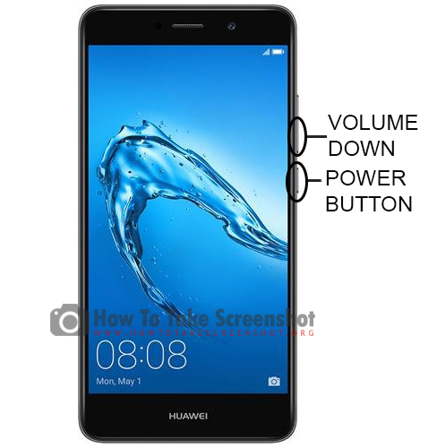 How to Take Screenshot on Huawei Honor Holly X4