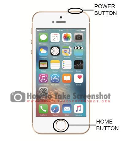 How to take Screenshot on Apple iPhone SE 2