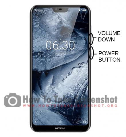 How to take Screenshot on Nokia X6