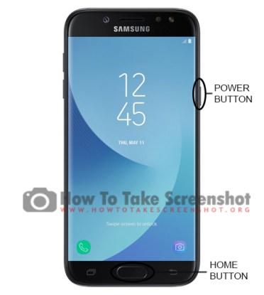 How to take Screenshot on TracFone Samsung Galaxy J7 Sky Pro