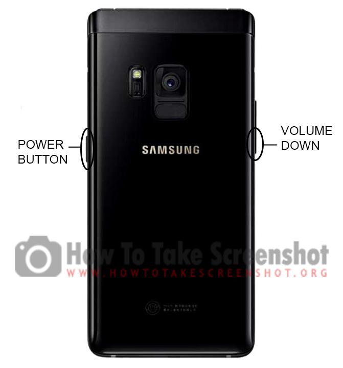 How to take Screenshot on Samsung Leadership 8