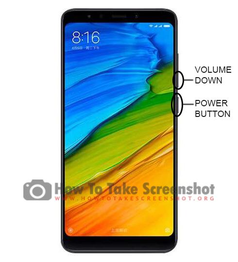 How to take Screenshot on Xiaomi Mi A2