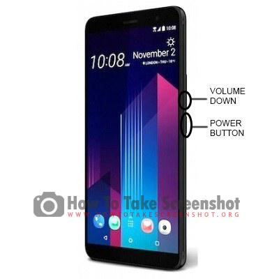 How to take Screenshot on Huawei U12 Plus