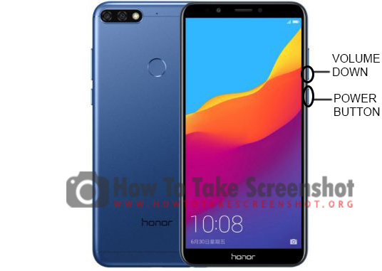 How to take Screenshot on Huawei Honor 7A