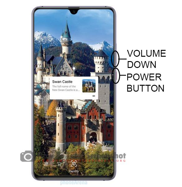 How to Take Screenshot on Huawei Mate 20 X