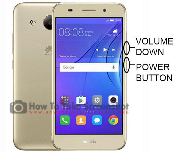 How to Take Screenshot on Huawei Y3